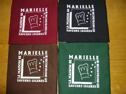 Photo des tabliers de la maison de marielle